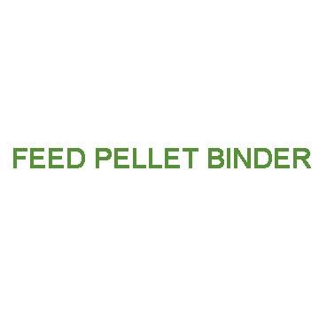 Feed pellet binder